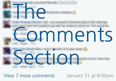 CommentsSection
